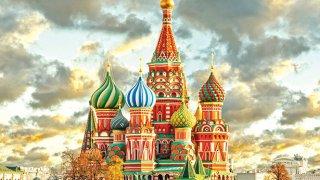¿Monumentos y tetris? Solo en Rusia, Moscú