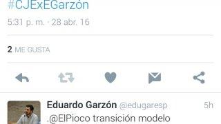 Aquí puedes encontrar las capturas de pantalla para que te sea más cómodo leer nuestra tweet-entrevista con Eduarzo Garzón sin necesidad que acceder a nuestro perfil (@ElPioco).