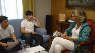 Entrevista con la Delegada del Gobierno en Extremadura, Dña. Cristina Herrera