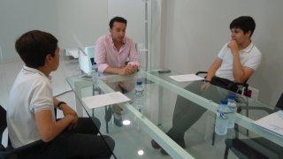 Entrevista con d. Ricardo Cabezas, candidato del PSOE a la Alcaldía de Badajoz.