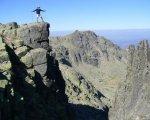 Foto tomada en el pico más alto de toda Extremadura.