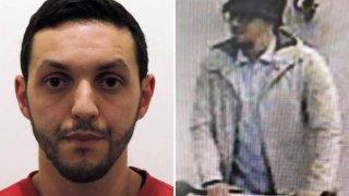 El conocido como el terrorista del sombrero, Mohamed Abrini, captado por las cámaras de seguridad del aeropuerto de Zaventem.