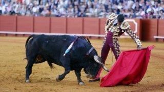 Manzanares cortó una oreja a cada uno de los toros de su lote .
