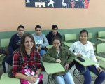 Alumnos del Colegio Santísima Trinidad.