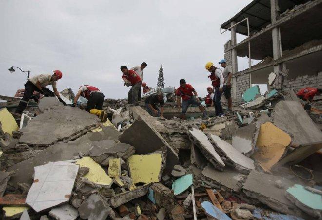 Imagen del terremoto