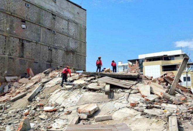 Otro terremoto sacude Ecuador
