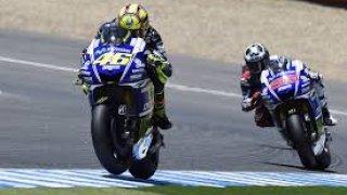 Jorge y Valentino en la clasificación.
