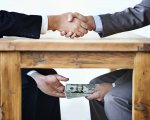Representación de corrupción