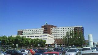 Hospital Infanta Cristina, al que fue trasladada la menor.