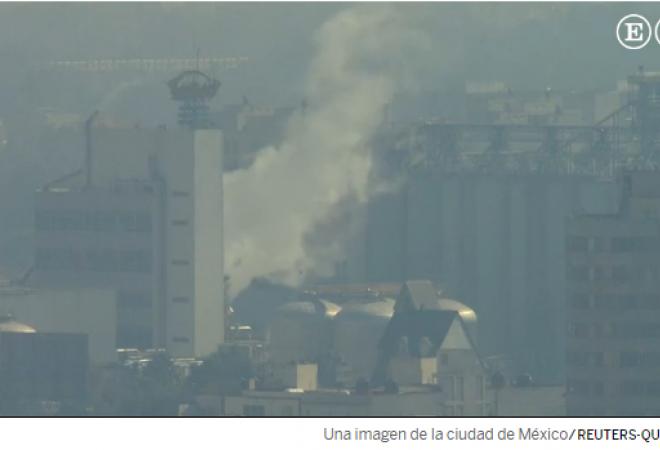 La Ciudad de México no logra limpiar el aire que respira.