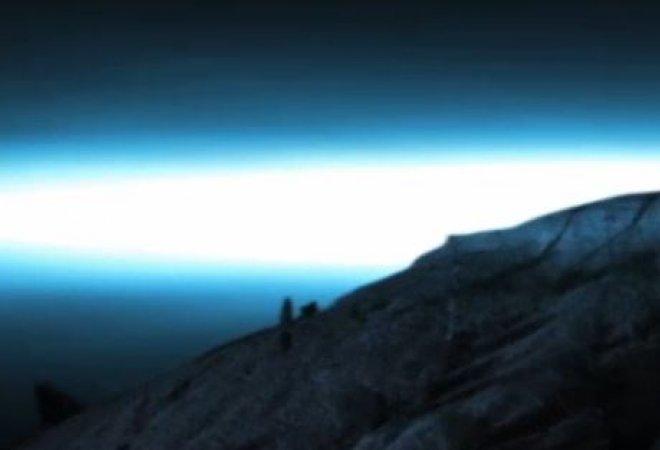 El Teide, con una luz extraña.