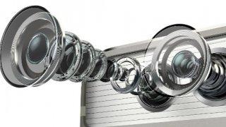 Las lentes del nuevo Huawei P9.