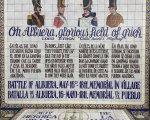 Placa conmemorativa de La Batalla de La Albuera