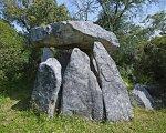 Vista del dolmen desde el suroeste./ Víctor Gibello