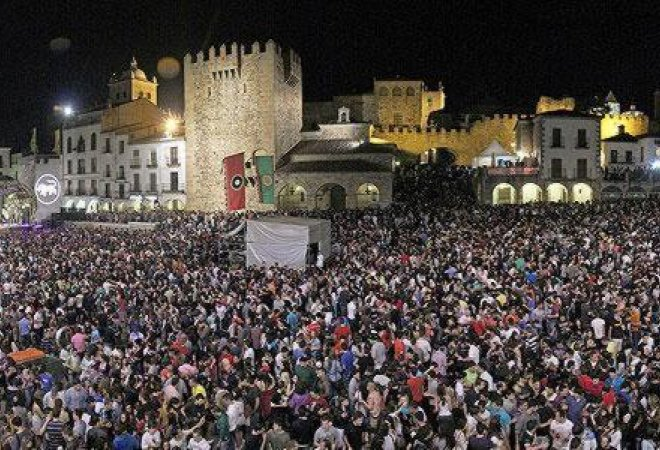 Festival Womad Cáceres.