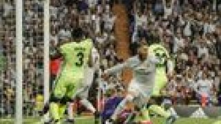 Sergio Ramos celebrando el gol que le dió el pase a la final de la Champion