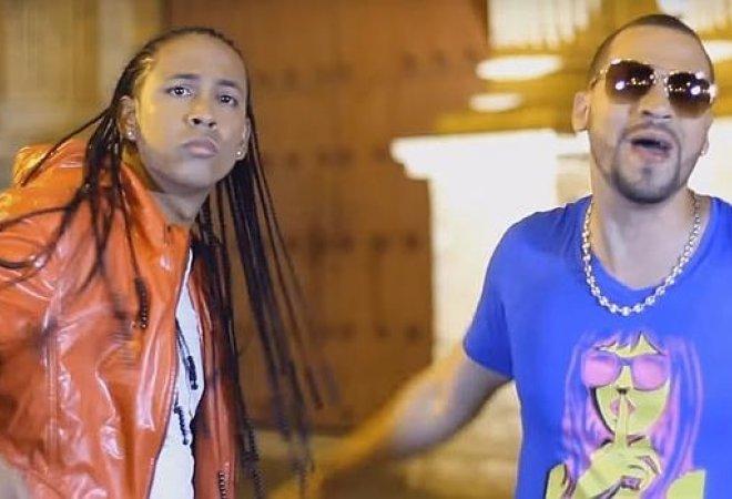 Una imagen de un videoclip de Kubba y Edward.