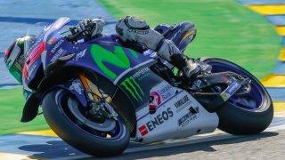 Jorge Lorenzo y su Yamaha.