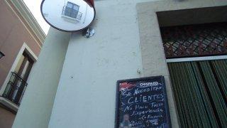 Reclamo de clientes en el Bar 'Los navegantes'. Manuel Lozano