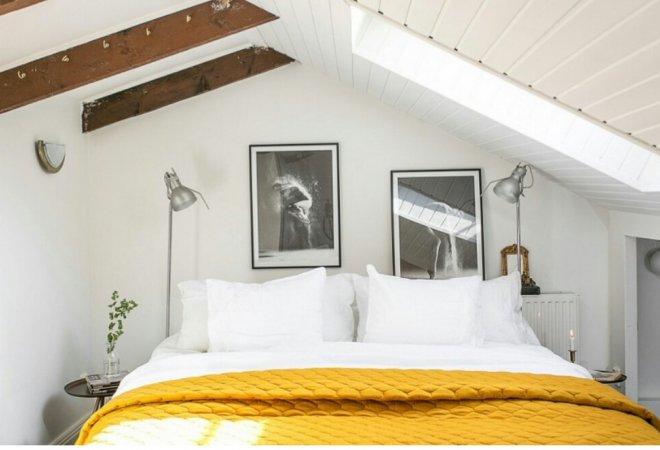 El color mostaza es el adecuado para tu habitación