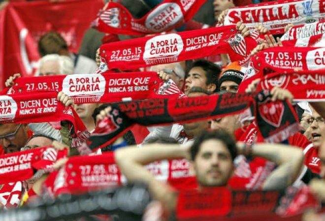 la afición del Sevilla