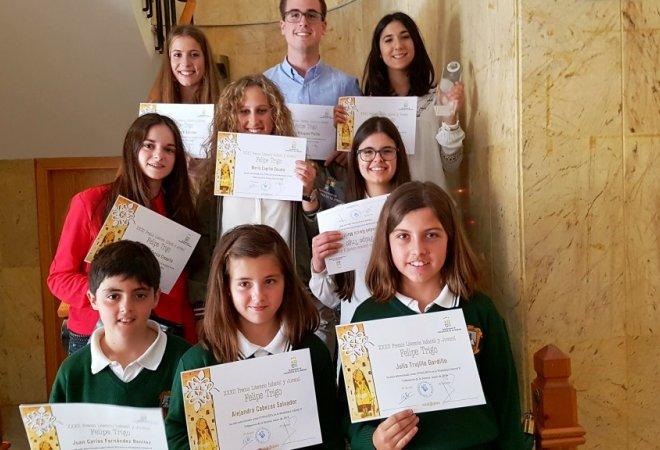 Ganadores y finalistas del Colegio Claret