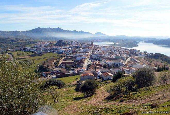 Pueblo de Alange.