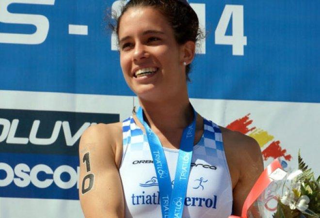 La triatleta extremeña, Miriam Casillas. CEDIDA