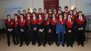 Alumnos de El Tomillar