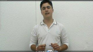 Una secuencia del videolibro. Félix Martín