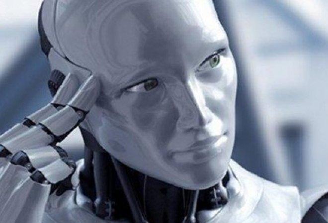 Imágen de un robot del futuro.