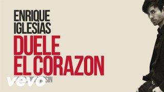 Así suena la nueva canción de Enrique Iglesias, DUELE  EL CORAZÓN!!