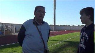 Juan Méndez, entrenador del Club Atletismo Almendralejo
