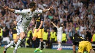 Cristiano, en uno de sus goles