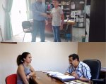 María paredes y Jorge Rodríguez entrevistan a Gervasio e Isidro