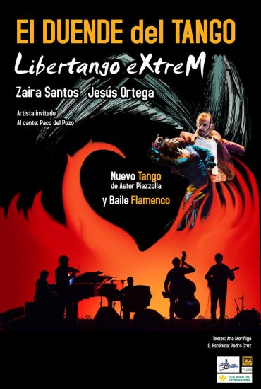 Nuevo espectáculo de tango de Libertango eXtreM