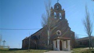 Iglesia de Nuestra Señora del Castillo en Poveda de las Cintas.