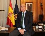 Germán López Iglesias en su despacho. CEDIDA