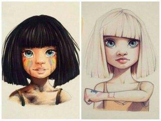 Lera Kiryakovka's drawings