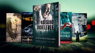 Algunas novelas de Marcos Nieto. CEDIDA