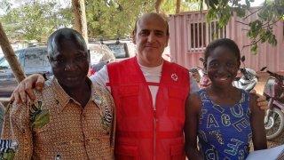 Juan Antonio en Burkina Faso. CEDIDA