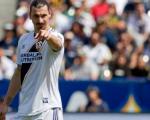 Zlatan en su primer juego con el Galaxy