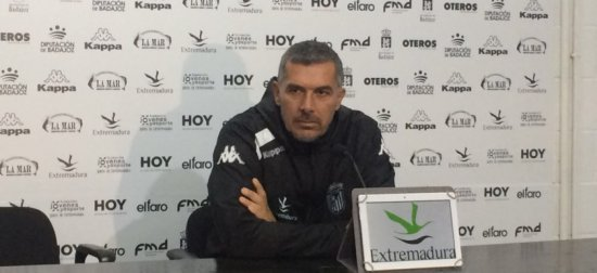 'Sabía de la potencialidad del CD Badajoz y de su afición'