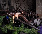 Procesión  del Cristo Negro en la ciudad de Cáceres