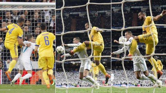 ¿En verdad hubo robo en el penalti del Real Madrid, Juventus?