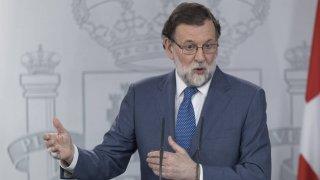 Momento en el que descarta Mariano Rajoy la dimisión de Cifuentes