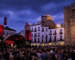 Plaza Mayor de Cáceres en Womad 2017