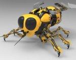 """Prototipo de las """"Marsbees"""""""