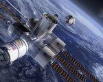 Simulación del primer hotel espacial