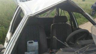 Estado en el que queda el coche después del accidente.